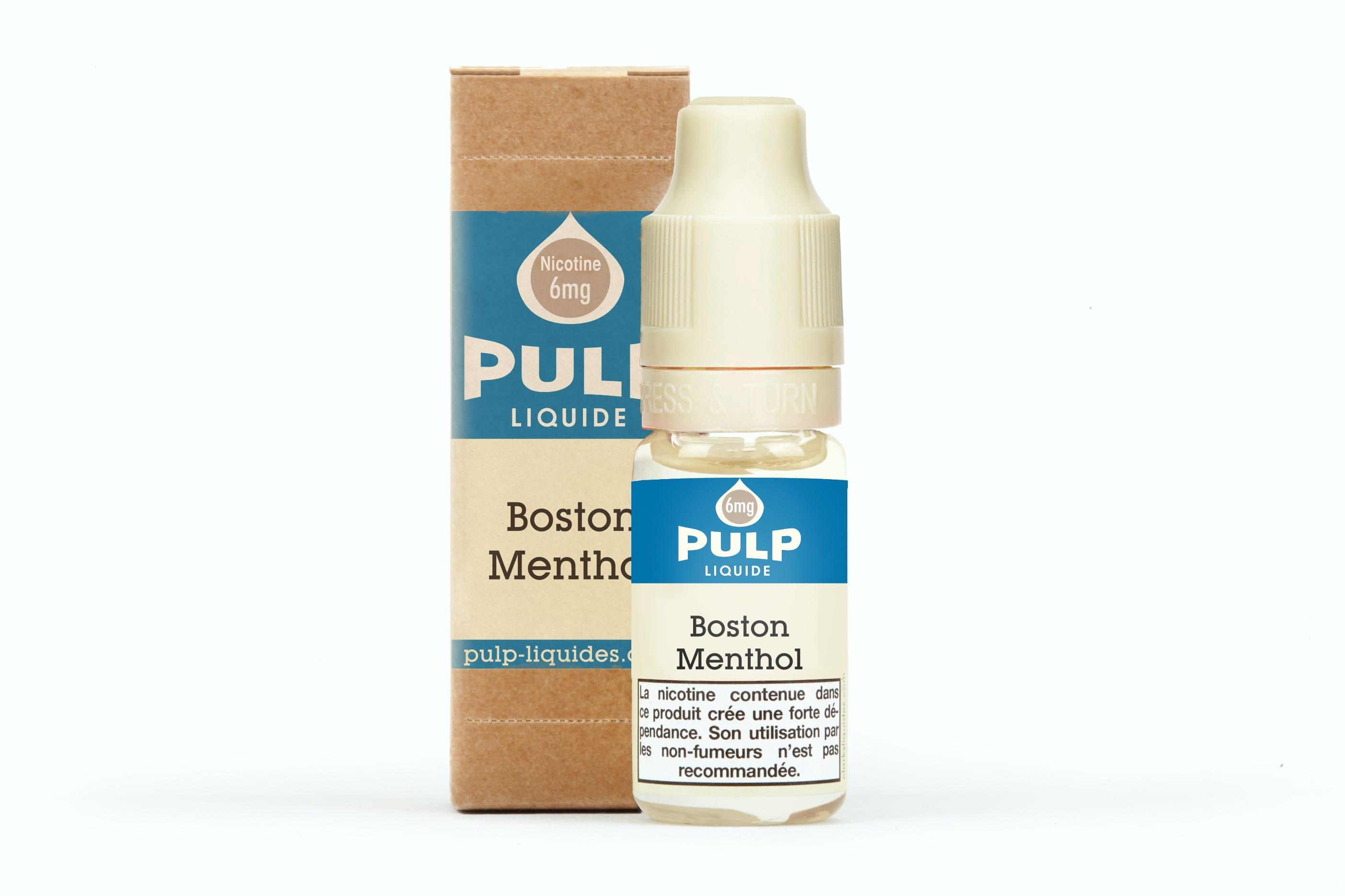 Boston Menthol Pulp